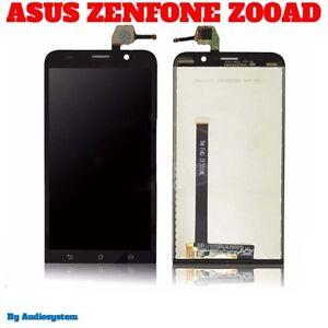 DISPLAY LCD+TOUCH SCREEN SCHERMO per ASUS ZENFONE 2 ZE551ML Z00AD VETRO NERO