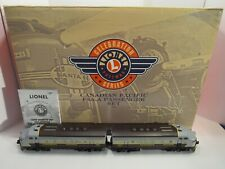 LIONEL CANADIAN PACIFIC SET #6-21759 A-A F3 2373 & 4 PASS CARS (BOXED COMPLETE)