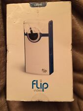 NEW in Open Box - Flip Video U1120 U1120BLPocket Camcorder - BLACK