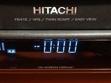 HITACHI VT-F641 VCR - Video registratore Vintage da Riparare o Ricambi