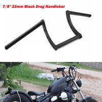 22MM 7/8'' Stahl Styling Z-Rohr Motorrad Lenker für Harley Yamaha Kawasaki Suzuk