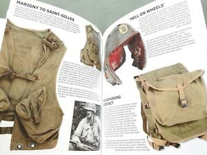 """BATTLEFIELD RELICS NORMANDY 1944"" US GERMAN WW2 D-DAY HELMET CAP REFERENCE BOOK"