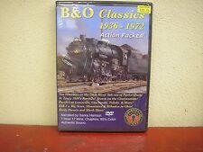 B&O Classics 1936-1972 DVD Herron Rail Video Baltimore And Ohio