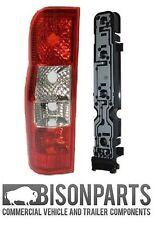 * Ford Transit Van Mk7 trasera lente de luz trasera lámpara pasajero LHS & titular TRA002KIT