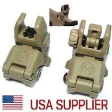 MAGPUL MBUS Gen 2 Back up Flip Up Sights FDE PTS Front AND Rear!