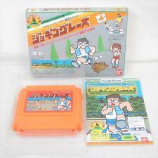 JOGGING RACE Family Trainer Famicom Nintendo Imort Japan Video Game fc