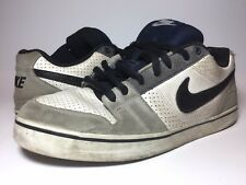 Nike SB Skate Shoes Size 11 Men's Black White Grey Skateboard Dunk