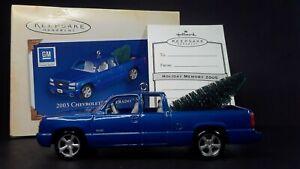 Hallmark Keepsake 2003 Chevrolet Silverado Ornament #11 All American Trucks 2005
