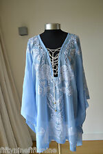 NEW EMILIO PUCCI KAFTAN / DRESS /COVER UP Made in Italy SIZE 8 10 12 14
