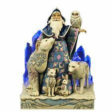 Jim Shore for Enesco Heartwood Creek Winter Santa Masterpiece Figurine,