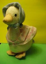 "Eden Jemima Puddle Duck 9"" plush for Easter"