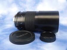 Tokina 500mm F/8 Olympus OM ,+ MFT Micro Four Thirds Anschluss Top Zustabd