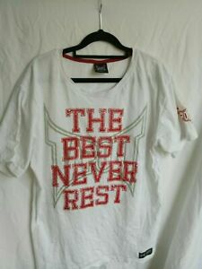 Tapout The Best Never Rest White boxing XL T-Shirt