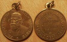 Médaille François Vincent Raspail, Bar de Ménilmontant, Louis Delafosse, 1897 !!