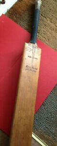 Vintage Walter Warsop Cricket Bat Little Baddow Chelmsford Essex