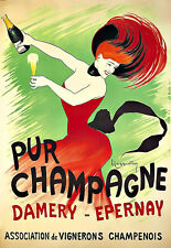 Art Ad Pur Champagne  Damery Epernay  Poster Print