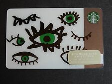 2014 Face Parts - Holiday Issue Starbucks Cards - New & Never Swiped