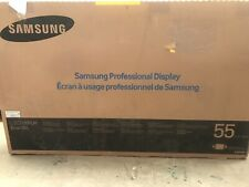 "NEW Samsung DB55E 55"" LED FHD 1080p Smart Commercial Digital Signage Display"