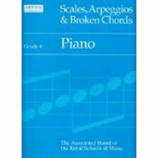 ABRSM Scales Arpeggios and Broken Chords Piano Grade 4 Book S13 B21