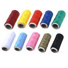 10 Pezzi su misura colorato di cucitura Bobine filo per cucire E5W8