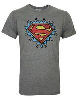Junk Food Superman Logo Men's T-Shirt