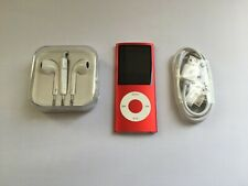 Apple iPod nano 4th Generation Chromatic Red (8GB)
