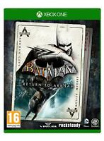 Batman Return to Arkham (Xbox One) inc Arkham Asylum & Arkham City New & Sealed
