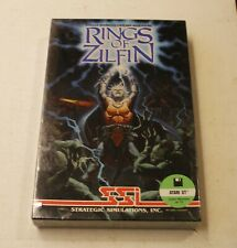 VERY RARE: Rings of Zilfin by Strategic Simulations, Inc. for Atari ST - NEW