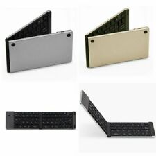 Portable Folding Bluetooth Keyboard Wireless QWERTY For iPhone Tablet Windows PC