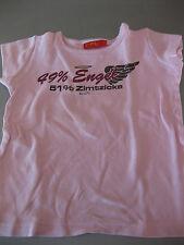 Shirt T-Shirt Gr. 104/110 CFL, Motiv 49% Engel / 51% Zimtzicke, Rosa, schön