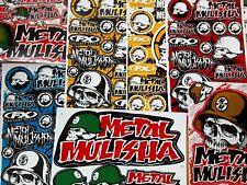 Lot of 20 Metal Mulisha Stickers Racing Motorcycle Motocross Atv
