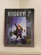 Shadowrun: Rigger 2, RPG, Fasa, Softcover