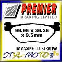 PASTIGLIE FRENI POSTERIORI ORGANICHE PREMIER YAMAHA TDM 900 (5PS/Non ABS) 2003
