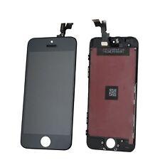 Display für iPhone 5S mit RETINA LCD Glas Scheibe Bildschirm Front SCHWARZ BLACK