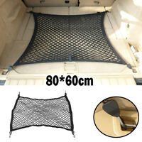 80*60CM Car Rear Trunk Boot Floor Cargo Net Mesh Luggage Organizer Elastic