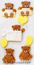 Artoz Artwork 3D-Sticker, Teddybären Kinder Geburtstag