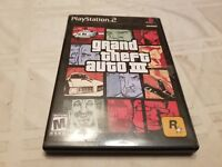 PS2 Grand Theft Auto III 3 Game - Sony PlayStation 2