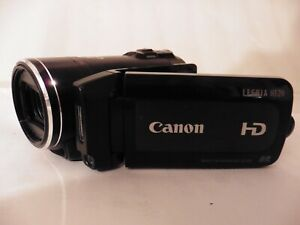 Canon Legria HF20 E CMOS Camcorder HD Video Camera WORKING UNIT ONLY please read
