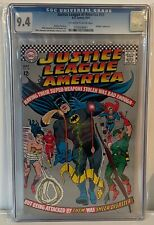 JUSTICE LEAGUE OF AMERICA #53 - CGC 9.4 - HAWKGIRL APPEARS