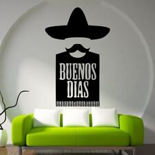 Buenos Dias Mexican Decal Wall Stickers Handicrafts Family Mural Decoration