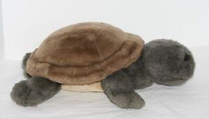 """Lou Rankin Friends SLOWPOKE Turtle Plush Stuffed Toy 16"""" Applause"""