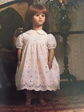 """Annette Himstedt Puppen Kinder Barefoot Children """"Paula"""" Doll w Box & COA"""