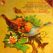 YEHUDI MENUHIN-STEPHANE GRAPPELLI - STRICTLY FOR THE BIRDS LP SPAIN 1981 EXCELLE