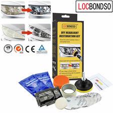 Car Headlight Lens Restoration DIY System Professional Restorer Polishing Kit