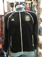 Adidas Argentina Track Top  Black Blue White Size S Men's Only