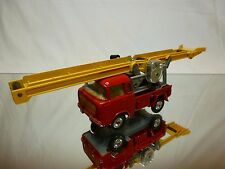 CORGI TOYS 64 JEEP FC-150 WORKING CONVEYOR on forward CONTROL- RED - GOOD