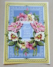 A Handmade THANK YOU Card with Anna Griffin Design & Supplies Embellished