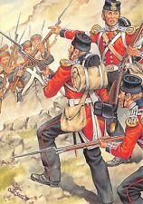 Postcard Uniforms Royal Marines Privates & Corporal J. Prettyjohn 1854 #34-4
