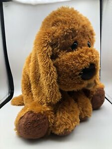 Large Animal Alley Toys R Us Floppy Brown Puppy Dog Plush Stuffed Toy Animal