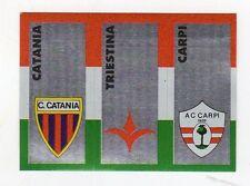 figurina CALCIATORI CALCIO FLASH 1993 SCUDETTO CATANIA, TRIESTINA, CARPI